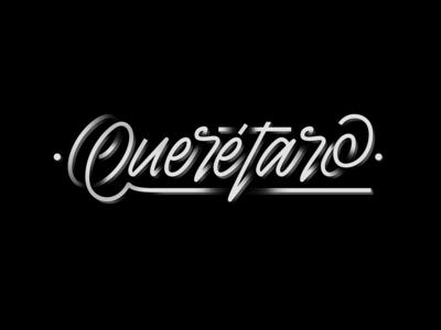 Querétaro - Digital lettering