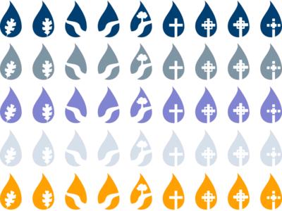 Teardrop Icons