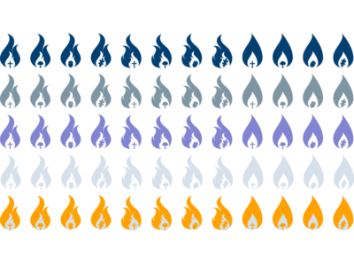 Flame Icons 3