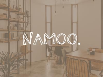 Logo for furniture app, called NAMOO