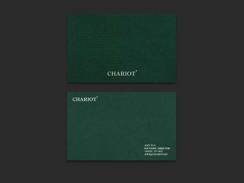 Chariot Business Cards