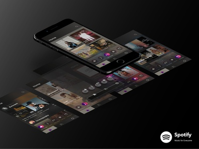 Spotify Interface Redesign