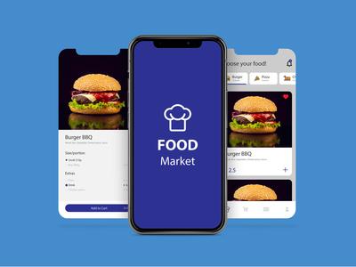 Food Application Mobile UI