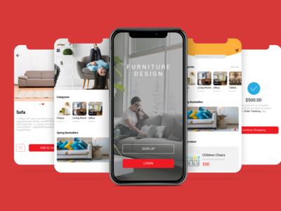 Furniture Mobile Application UI