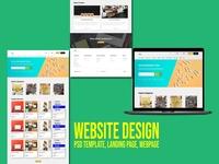 Website, Landing page Design
