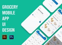 Grocery Mobile App UI Design