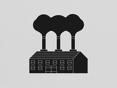 Brickworks factory after effects loop illustration animation