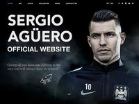 Official Website for Sergio Aguero