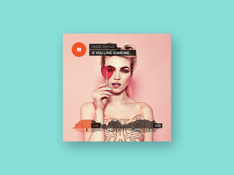 [Freebie] Soundcloud Mockup PSD element web ui hugo psd mockup soundcloud freebie dzoan