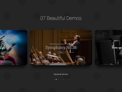 Hugo | New Preview Page dzoan beautheme demo preview theme wordpress artist band music hugo