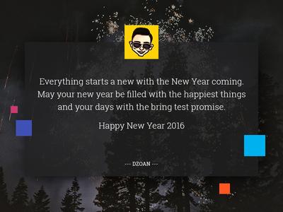 Happy New Year 2016 from DZOAN