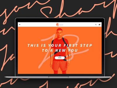 Personal Trainer Landing Page pt ui website fitness gym dzoan landing trainer personal