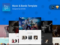 HUGO | Music & Bands Template