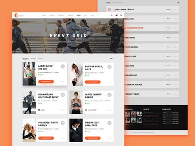 ASLAN | Event Grid & Listing
