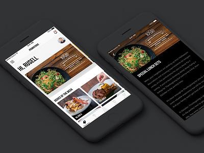 The KAfe App Concept | Promotion promotion concept dzoan restaurant cafe app design ios ux ui