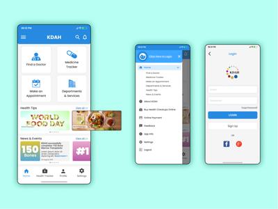 KDAH App Redesign