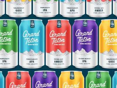 Grand Teton Brewing Core Cans