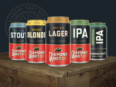Diamond Knot Cans
