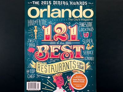 Orlando Magazine Dining Awards Cover
