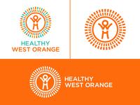 Healty West Orange Branding
