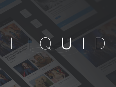 Meet LIQUID! A Free Web GUI Kit