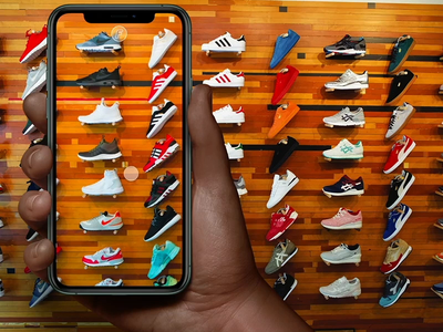 Sneaker Store AR shopping kicks iphone mobile interaction xd mvp ui ae prototype ux animation sneakers augmented reality
