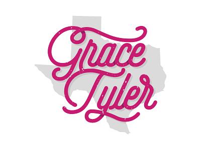 Grace Logo music female singer branding texas musician logo