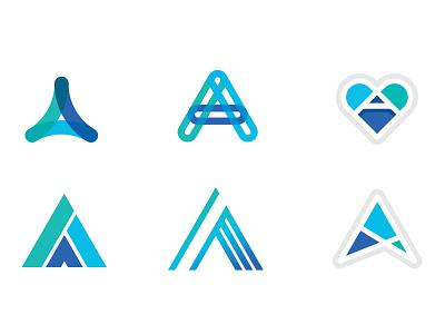 Advocacy Concepts branding patient heart logo advocacy