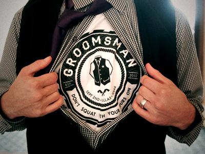 Groom dribb shirt