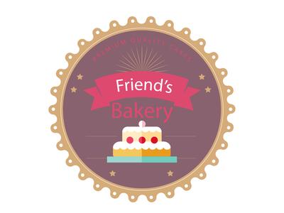 LOGO OF A BAKERY :- FRIENDS BAKERY (2)