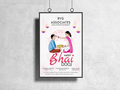BHAI DOOJ FLYER FOR RVG ASSOCIATES