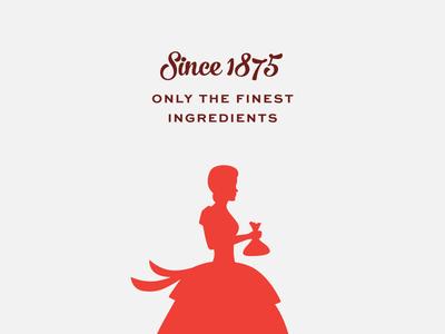 Jenny Lee Silhouette bakery bread silhouette character identity branding logo