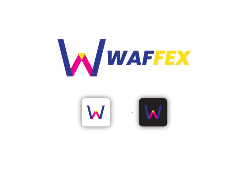 Waffex, W letter logo, flat logo, minimalist logo, app icon app icon logo designer lettermark minimalist logo branding letter logo logo logo design brand identity logodesign
