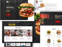 Burger King Homepage/Landing page.