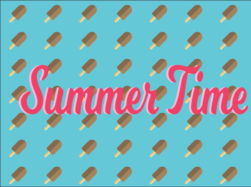 Summer time illustrator illustration