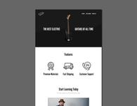 Guitar Eagle webdesign front-end development branding logo design webdesign ui  ux