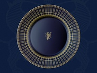 Luxury Plate Design Concept