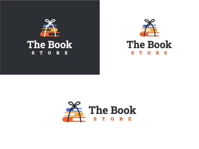 The Book shop Branding brand design graphicdesign web illustration vector typography tshirtdesign logo book shop branding branding