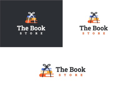 The Book shop Branding brand design graphicdesign web illustration vector typography tshirtdesign logo book shop branding branding