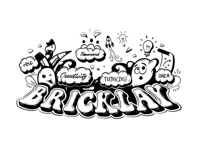 Bricklay Doodle Art