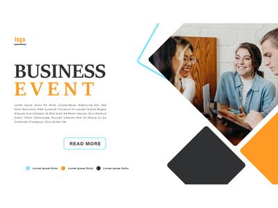 Business Event Publicity Banner