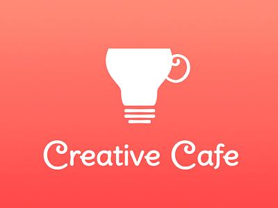 Creative Cafe Logo design flat vector branding identity logo
