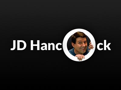 JD Hancock Business Card branding design business card