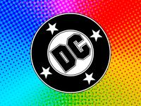 DC Comics Bullet Logo