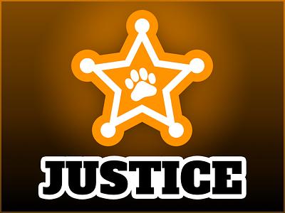 Justice Logo branding avatar design logo