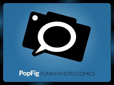 PopFig Logo vector design branding identity logo