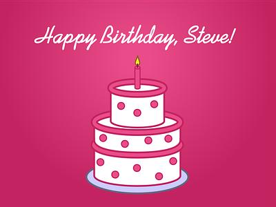 Happy Birthday, Steve! thank-you