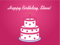 Happy Birthday, Steve!