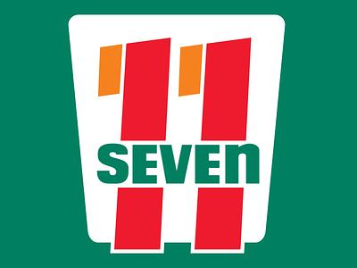 Eleven Seven logo design vector