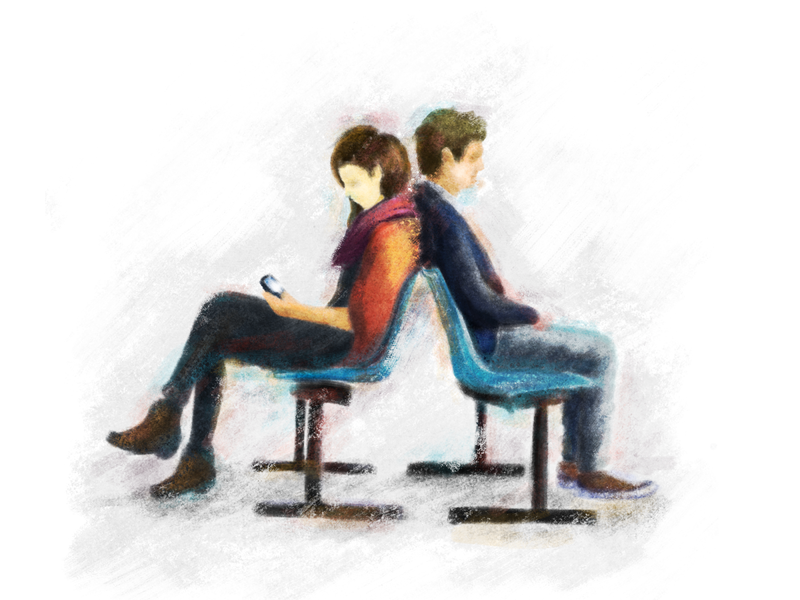 Lovers digitalart photoshop painting inlove boy girl drawing sketch illustration time lover lovers